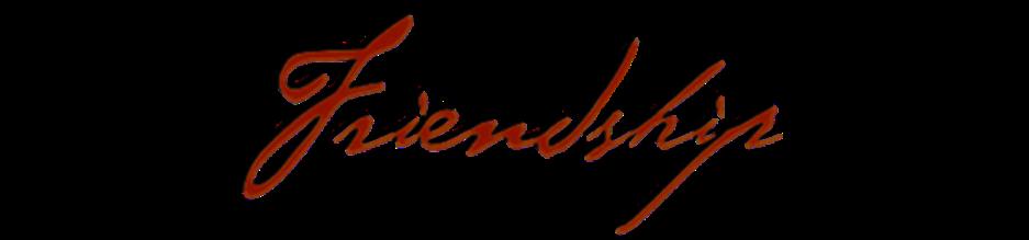 FRIENDSHIP - MASTER