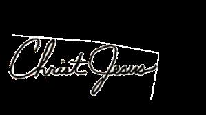 Signature - Christ Jesus